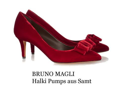 Magli rote Schuhe