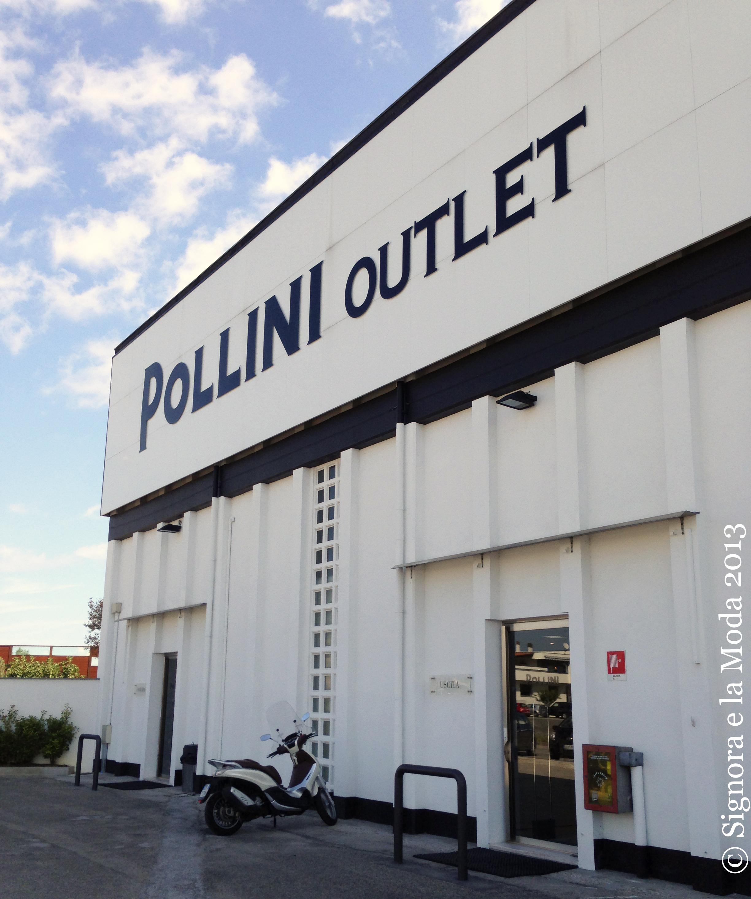 Pollini Outlet aussen