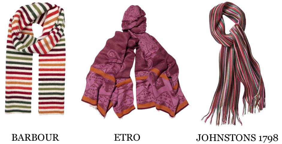 Bunte Schals 1