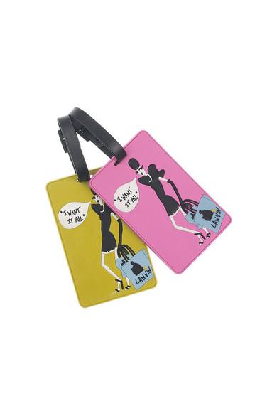 LANVIN - Gepäckanhänger