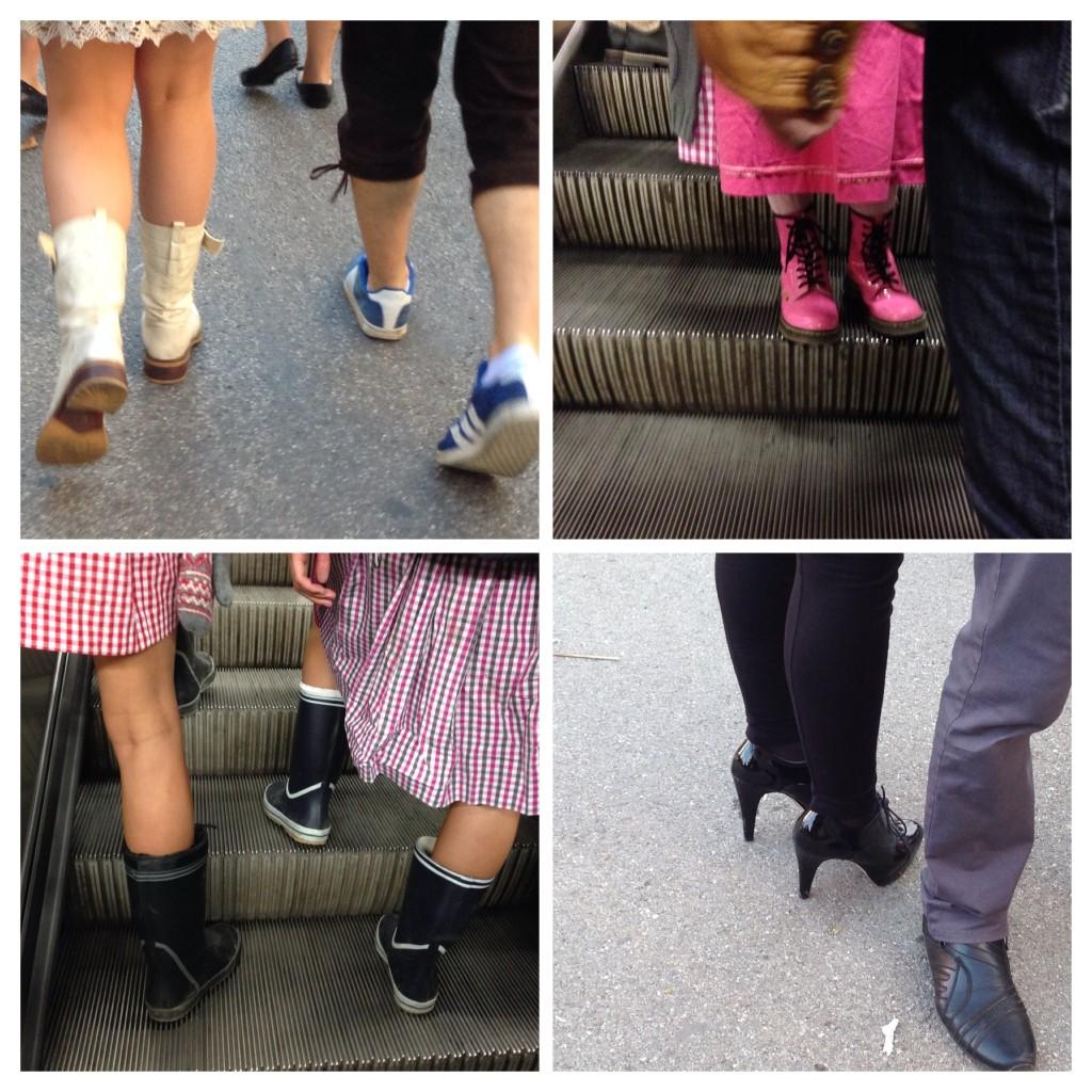 Wiesn 2013 Schuhe