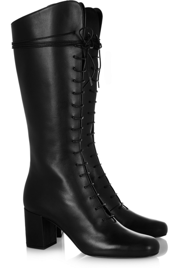 Saint Laurent Schnürstiefel