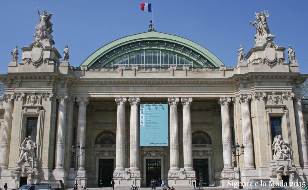 Grand Palais Eingang